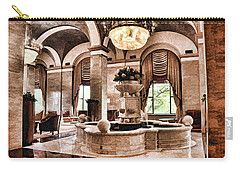 Carry-all Pouch featuring the photograph Renaissance Cleveland Hotel - 1 by Mark Madere