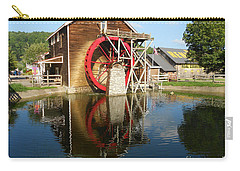 Carry-all Pouch featuring the photograph Renfro Valley  Mill by Mary Carol Story