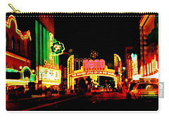 Reno At Night Carry-all Pouch by Michelle Calkins