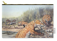 Repenomamus Mammals Hunting For Prey Carry-all Pouch
