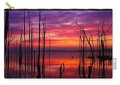 Reservoir At Sunrise Carry-all Pouch