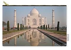 Resplendent Taj Mahal Carry-all Pouch