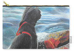 Carry-all Pouch featuring the painting Resting By The Shore by Jeanne Fischer
