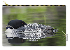Resting Loon Carry-all Pouch