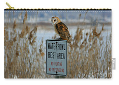 Resting Owl Carry-all Pouch