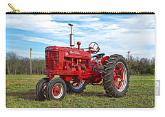 Restored Farmall Tractor Carry-all Pouch by Charles Beeler