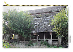 Carry-all Pouch featuring the photograph Retired Barn by Bonfire Photography
