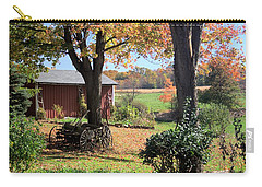 Retired Wagon Carry-all Pouch by Gordon Elwell
