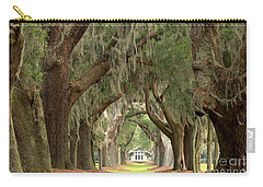 Retreat Avenue Of The Oaks Carry-all Pouch by Adam Jewell