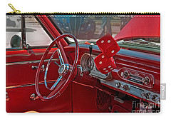 Retro Chevy Car Interior Art Prints Carry-all Pouch
