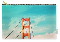 Retro Golden Gate - San Francisco Carry-all Pouch by Melanie Alexandra Price