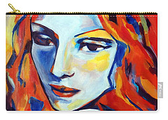 Carry-all Pouch featuring the painting Reverie by Helena Wierzbicki