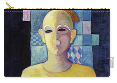 Rex, 2004 Acrylic On Canvas Carry-all Pouch