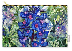 Rhapsody In Blue Carry-all Pouch