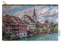 Carry-all Pouch featuring the photograph Rhine Bank by Hanny Heim