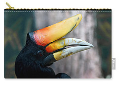 Rhinoceros Hornbill  Carry-all Pouch