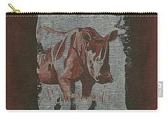 Rhinoceros Carry-all Pouch