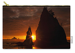 Rialto Beach Sunset Percusion Carry-all Pouch