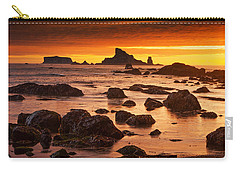 Rialto Beach Sunset Symphony Carry-all Pouch