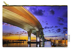 Ribbon In The Sky Carry-all Pouch by Marvin Spates