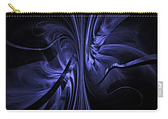 Ribbons Of Time Carry-all Pouch by GJ Blackman