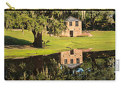 Rice Mill  Pond Reflection Carry-all Pouch