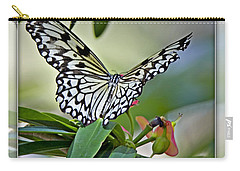 Rice Paper Butterfly 2b Carry-all Pouch