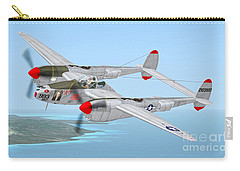 Richard Bong's P-38 Lightning Marge Carry-all Pouch