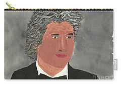 Carry-all Pouch featuring the painting Richard Gere by Tracey Williams