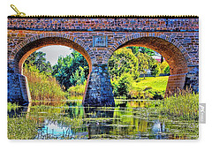 Carry-all Pouch featuring the photograph Richmond Bridge by Wallaroo Images