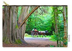 Riding In Style Carry-all Pouch