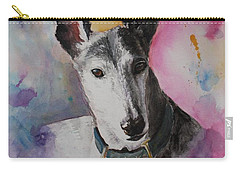 Riding The Rainbow Carry-all Pouch by Rachel Hames