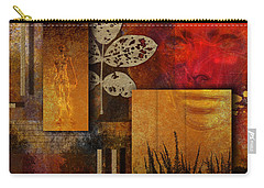 Carry-all Pouch featuring the digital art Rift by Nola Lee Kelsey