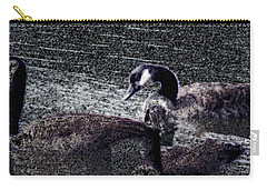 Carry-all Pouch featuring the photograph Right Behind Ya   by Lesa Fine