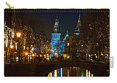 Rijksmuseum At Night Carry-all Pouch by Jonah  Anderson