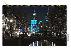 Rijksmuseum In Blue Carry-all Pouch by Jonah  Anderson