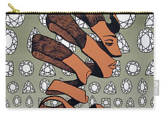 Carry-all Pouch featuring the painting Rind Beauty by Malinda Prudhomme