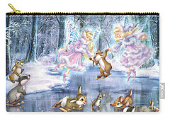 Rink In The Forest Carry-all Pouch