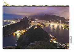 Rio Evening Cityscape Panorama Carry-all Pouch