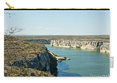 Carry-all Pouch featuring the photograph Rio Grande by Erika Weber