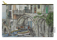 Riomaggoire Cinque Terre Italy Carry-all Pouch