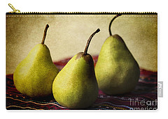 Ripe And Ready Carry-all Pouch by Linda Lees