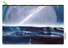 Carry-all Pouch featuring the painting Riptide  by Jason Girard