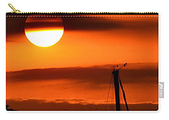 Carry-all Pouch featuring the photograph Rise And Shine by Deena Stoddard