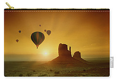Rising To The Sun Carry-all Pouch
