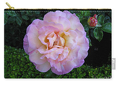 Ritzy Pink Rose Carry-all Pouch