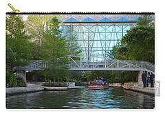 Carry-all Pouch featuring the photograph River Boating  by Shawn Marlow