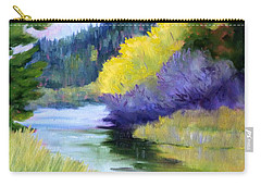 River Color Carry-all Pouch