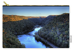 Carry-all Pouch featuring the photograph River Cut Through The Valley by Jonny D