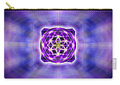 Carry-all Pouch featuring the drawing River Of Ascended Light by Derek Gedney
